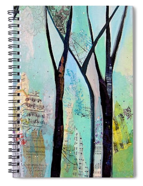 Winter Wanderings II Spiral Notebook