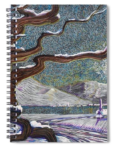 Winter's Day Spiral Notebook