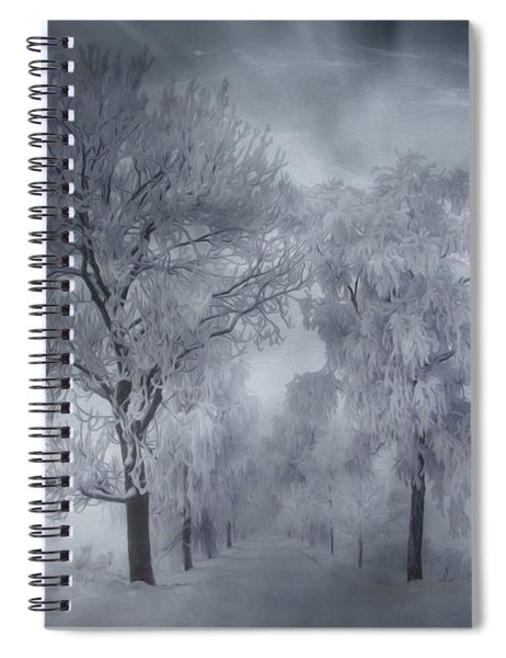 Winter's Magic Spiral Notebook