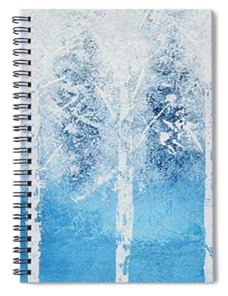 Wintry Mix Spiral Notebook