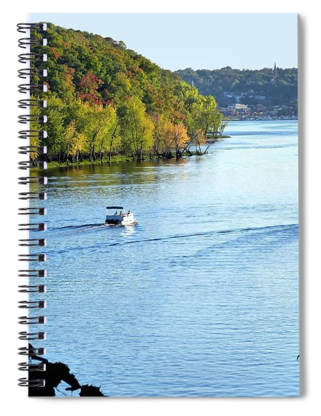 Wisconsin And Minnesota Spiral Notebook