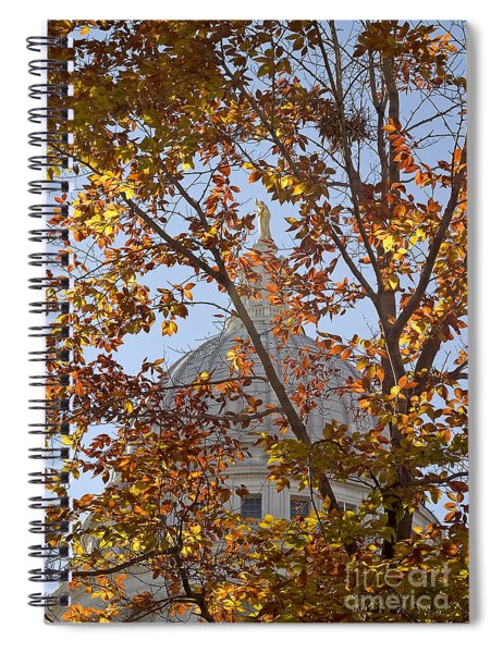 Wisconsin Capitol Spiral Notebook