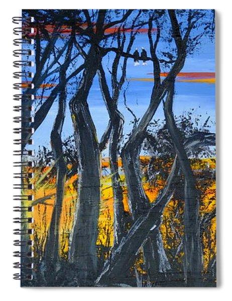 Wisconsin Creek Spooks Spiral Notebook