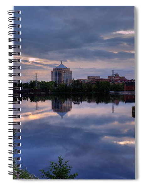 Wisconsin River Reflection Spiral Notebook