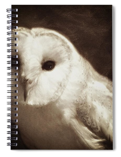 Wisdom Of An Owl Spiral Notebook