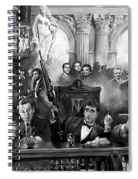 Wise Guys Spiral Notebook