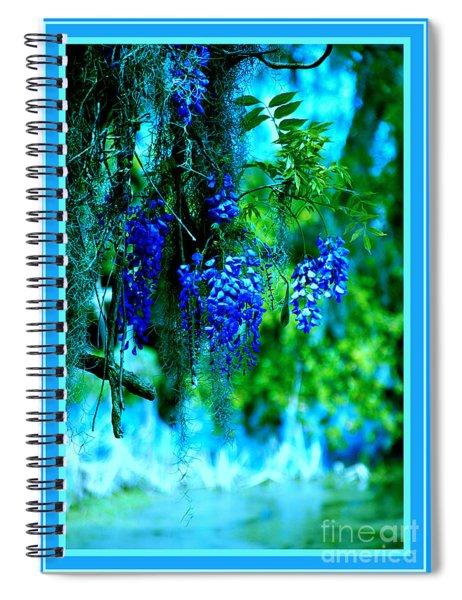 Wisterias - 2 Spiral Notebook