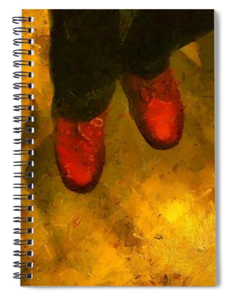 Witch Walking Spiral Notebook