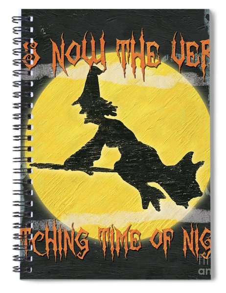 Witching Time Spiral Notebook