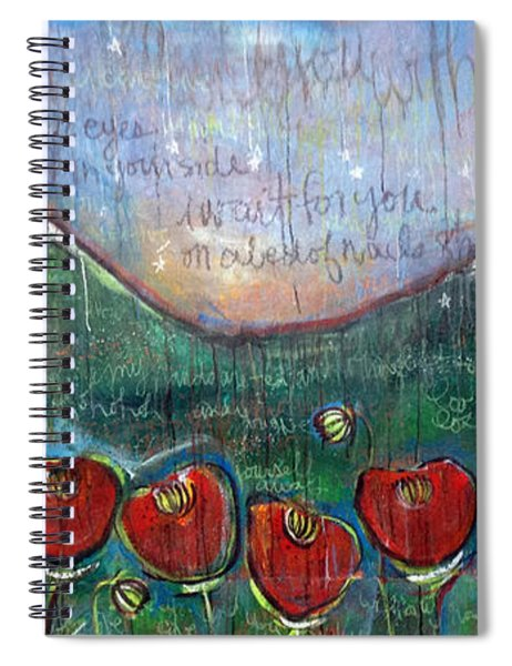 With Or Without You Spiral Notebook