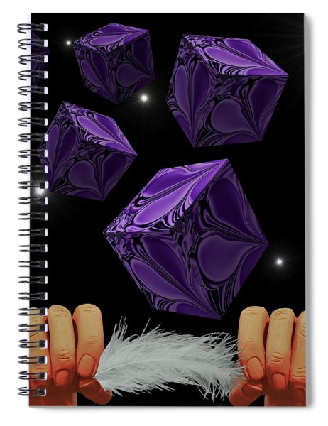 With The Lightest Touch Spiral Notebook