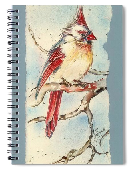With Touches Of Red  Spiral Notebook