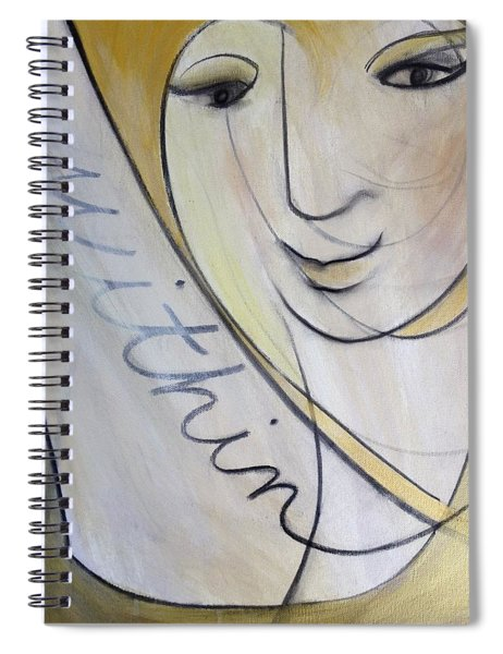 Within Spiral Notebook