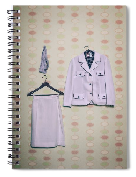 Woman's Clothes Spiral Notebook