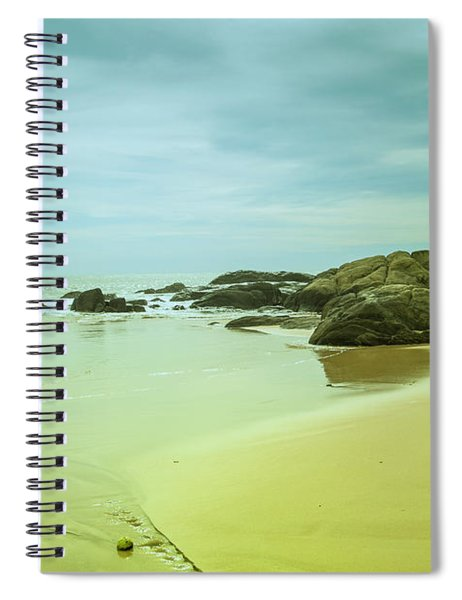 Wonderful Beachlandscape Spiral Notebook