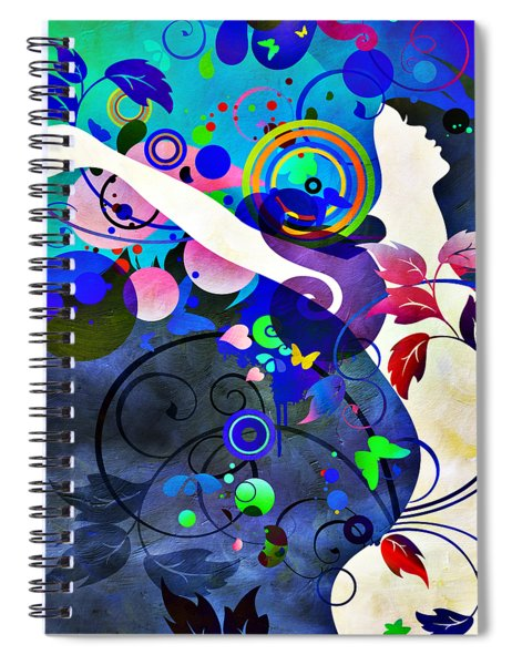 Wondrous Night Spiral Notebook