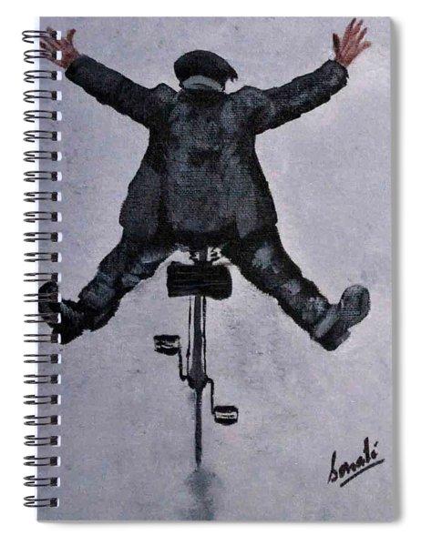 Woo Hoo Spiral Notebook