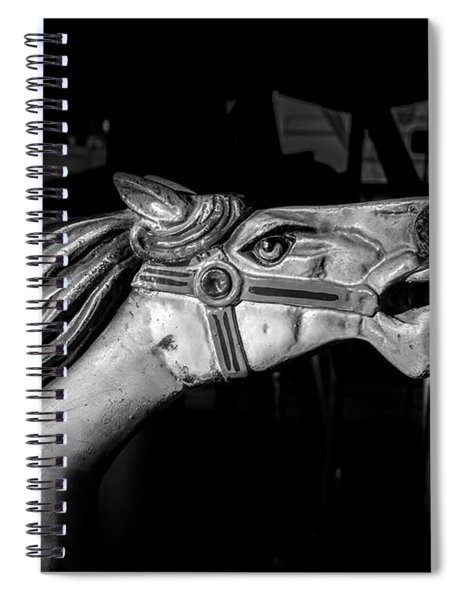 Wooden Pony Spiral Notebook