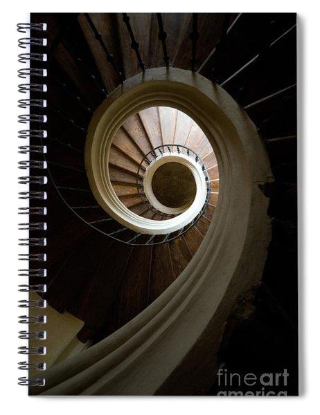 Wooden Spiral Spiral Notebook