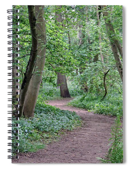 Woodland Path  Spiral Notebook