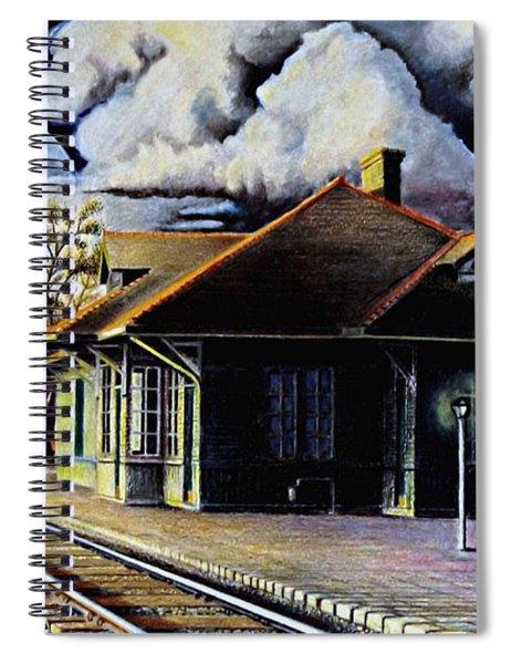 Woodstock Station Spiral Notebook