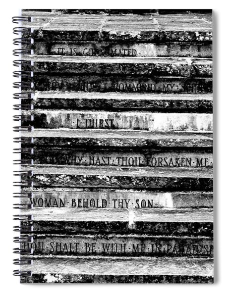 Words Of The Cross Spiral Notebook