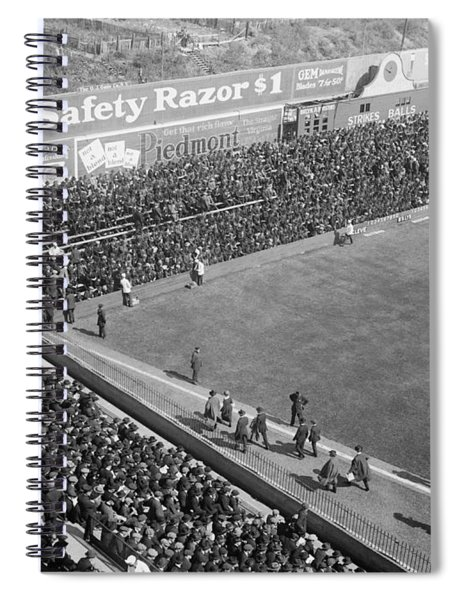 World Series Crowd At Ebbets Field Brooklyn 1920 Spiral Notebook