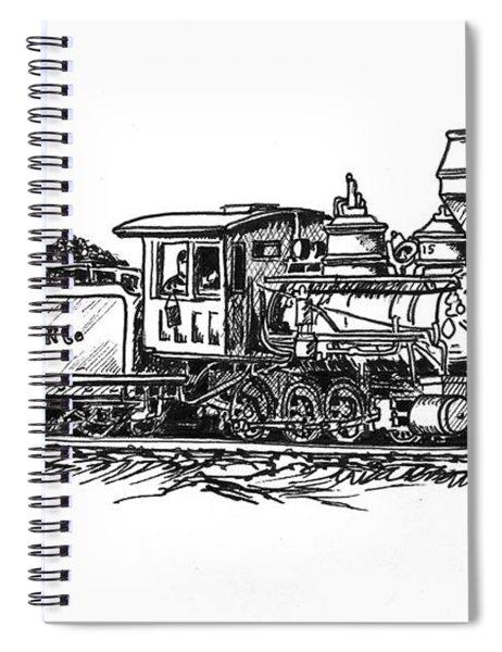 W.p.c..r. Loco Spiral Notebook