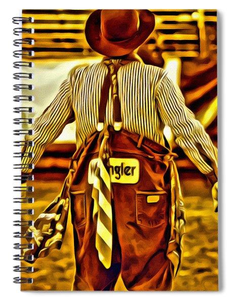Wrangler Clown Spiral Notebook