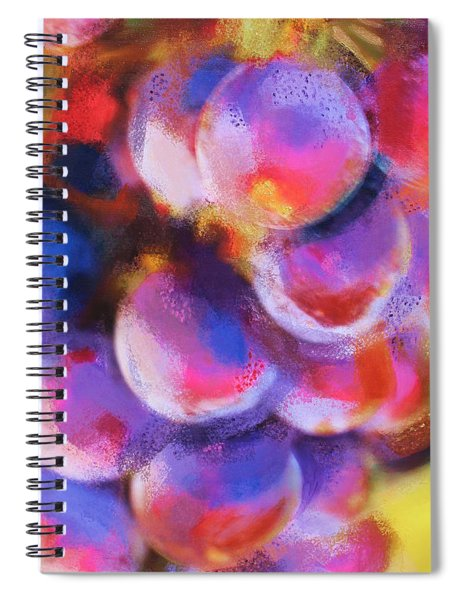 Wrath Of Grapes Spiral Notebook