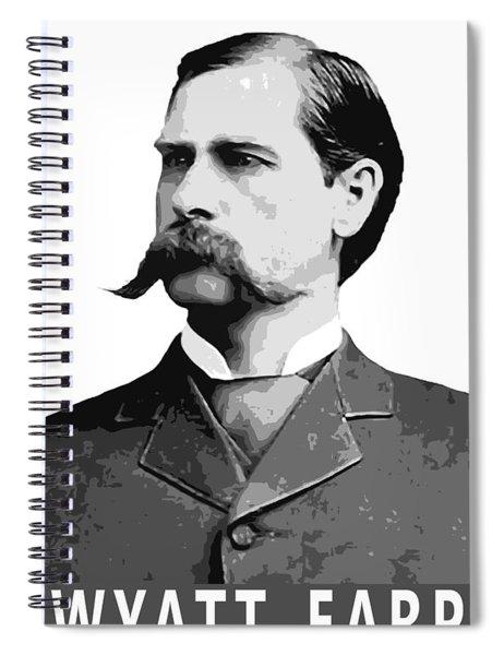 Wyatt Earp Legend Of The Old West Spiral Notebook