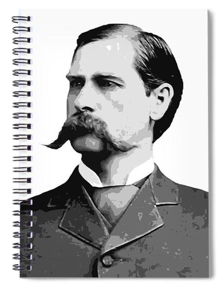 Wyatt Earp Old West Legend Spiral Notebook
