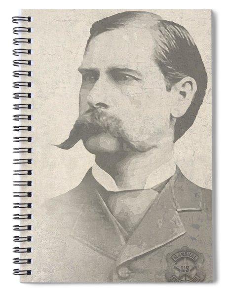 Wyatt Earp U. S. Marshal Spiral Notebook