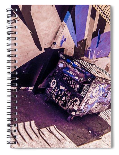 Wynwood Trash Spiral Notebook