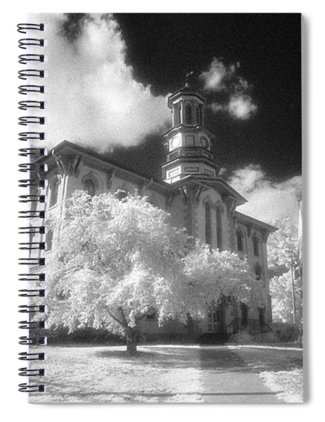 Wyoming County Courthouse Spiral Notebook