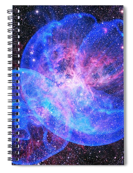 X-factor In Universe. Strangers In The Night Spiral Notebook