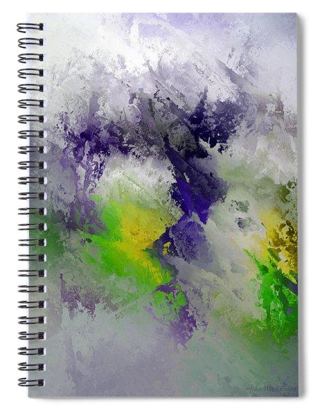 X - Medieval Spiral Notebook
