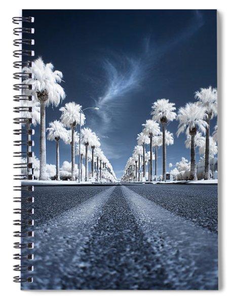 X Spiral Notebook by Sean Foster