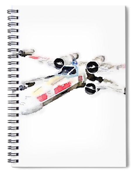 X-wing Spiral Notebook
