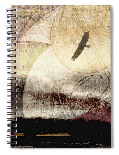 Yachats Eagle Square Format Spiral Notebook