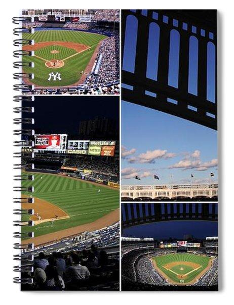 Yankee Stadium Collage Spiral Notebook