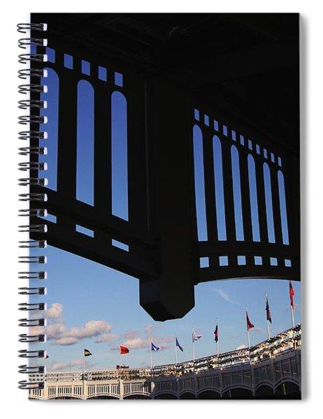 Yankee Stadium Facade Spiral Notebook