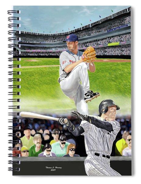 Yankees Vs Indians Spiral Notebook