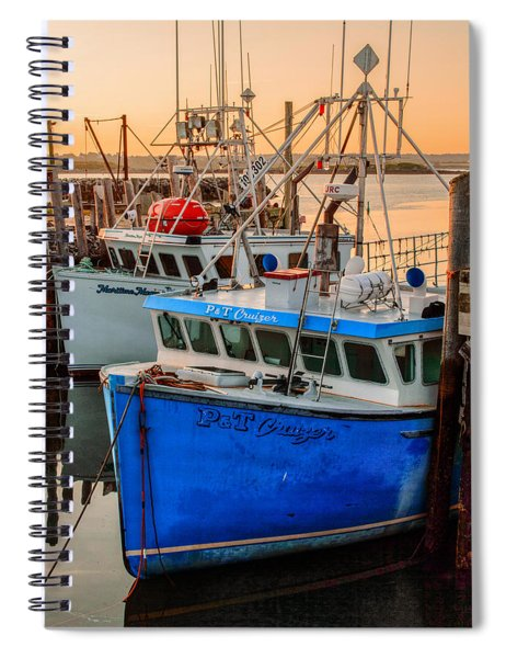 Spiral Notebook featuring the photograph Yarmouth Harbour by Garvin Hunter