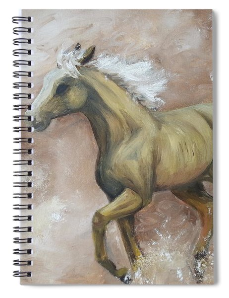 Yearling In Storm Spiral Notebook