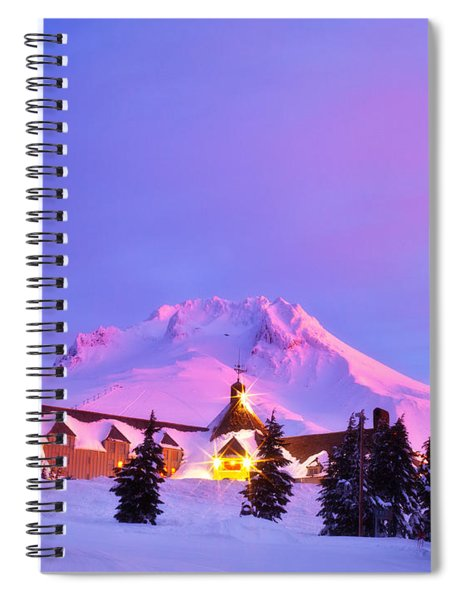 Years End Spiral Notebook