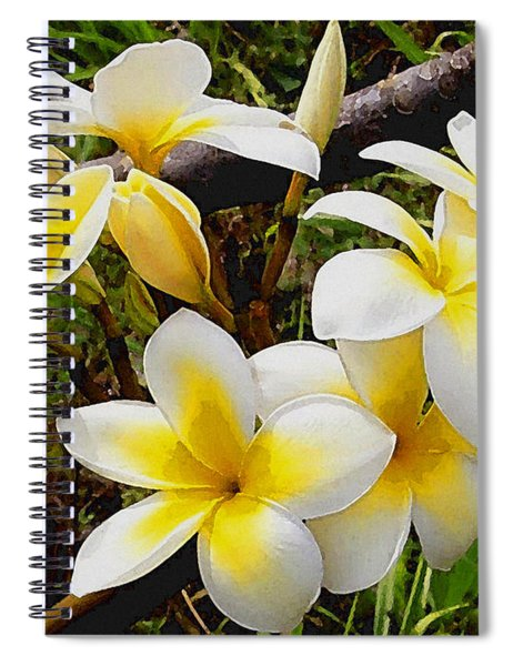 Yellow Flowers 1 Spiral Notebook