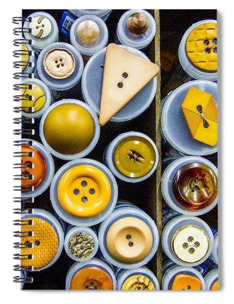 Yellow Palate Spiral Notebook
