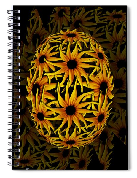 Yellow Sunflower Seed Spiral Notebook