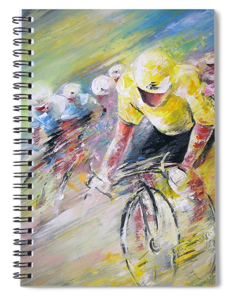 Yellow Triumph Spiral Notebook